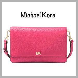 Michael Kors Phone-Wallet Crossbody Bag